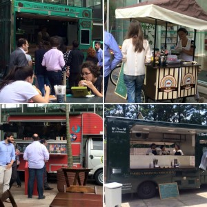 Editora Abril e Arena Food Truck