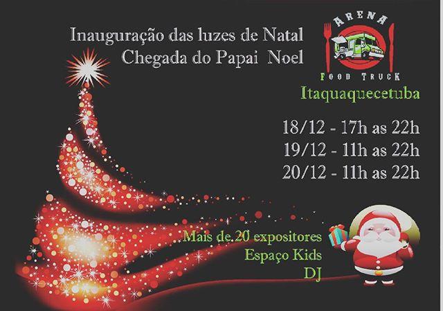 Itaquaquecetuba terá feira gastronômica com Papai Noel
